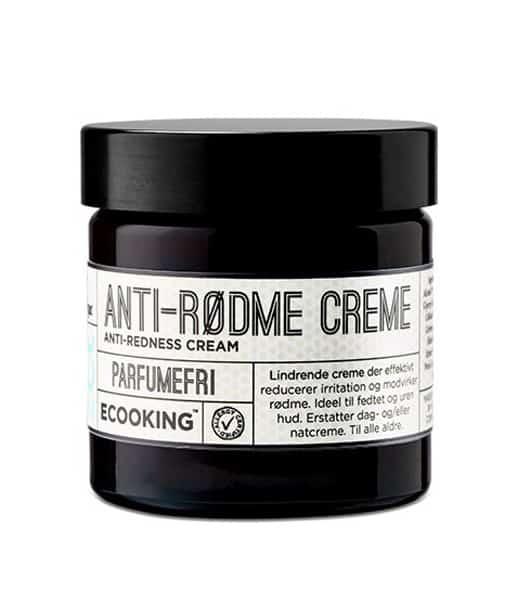 Billede af Ecooking Anti-Rødme Creme parfumefri - Ideel til sensitiv og acneramt hud 50 ml