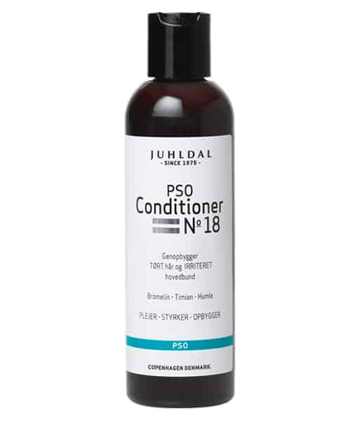 Juhldal PSO Conditioner No 18 Genopbygger, tørt hår irriteret hovedbund 200 ml