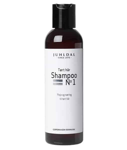 Juhldal Shampoo No 1 - Tørt hår - pleje og næring 200 ml